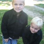 Project Boys Church Coat